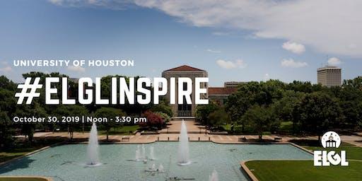 #ELGLInspire - University of Houston