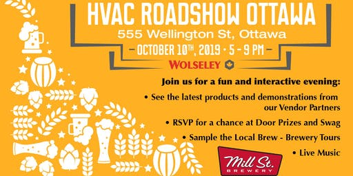 HVAC Roadshow Ottawa - Mill St. Brewery Event