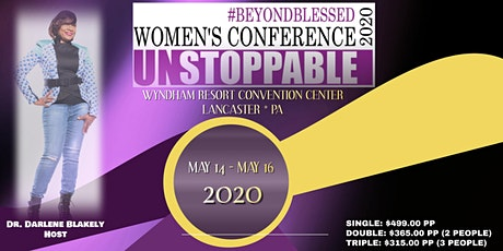 """#BEYONDBLESSED WOMEN'S CONFERENCE 2020  """"UNSTOPPABLE"""" tickets"""