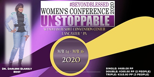 "#BEYONDBLESSED WOMEN'S CONFERENCE 2020  ""UNSTOPPABLE"""
