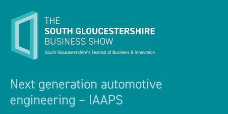 Next generation automotive engineering – IAAPS tickets