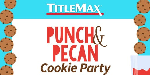 Punch & Pecan Cookie Day at TitleMax Rincon, GA  1