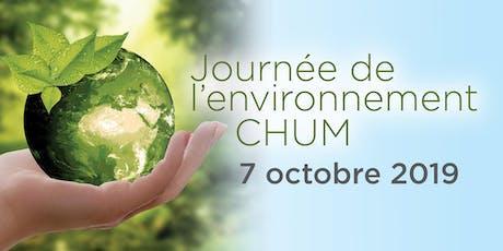 Journée de l'environnement CHUM 2019 tickets