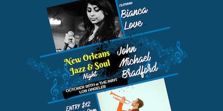 Bianca Love, John Michael Bradford, Juhan Ongbrian tickets