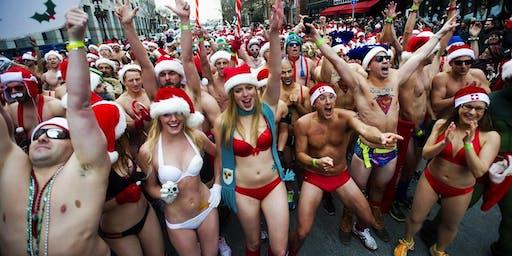 Santa Speedo Run Warm-Up Party at Bill's Bar!
