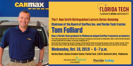 F. Alan Smith Distinguished Lecture Series: Tom Folliard tickets