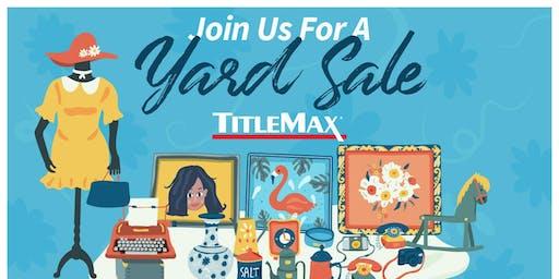 Community Yard Sale at TitleMax Augusta, GA