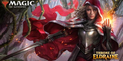 Throne of Eldraine Prerelease 2HG ( Samspel Open )