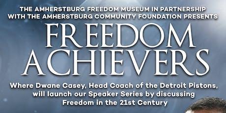 Freedom Achievers Program Kick Off with Pistons Head Coach Dwane Casey tickets