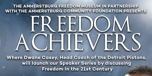 Freedom Achievers Program Kick Off with Pistons Head Coach Dwane Casey