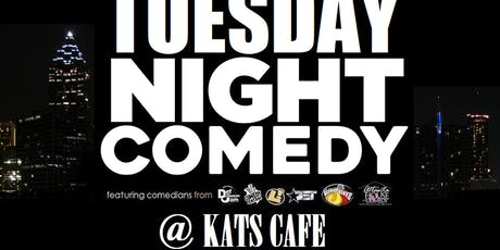 Tuesday Night Comedy at Kat's Cafe tickets