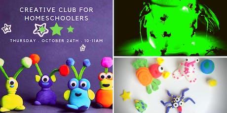 Kid's Creative Club Homeschool Edition - Let's GLOW tickets