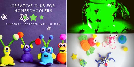 Kid's Creative Club Homeschool Edition - Let's GLOW *SOLD OUT*