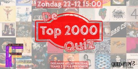 De Top 2000 PopQuiz tickets