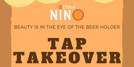 Tap Takeover at Osteria Nino tickets
