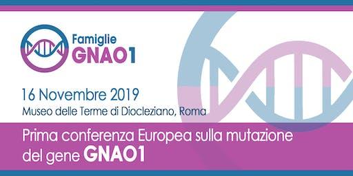 Prima conferenza europea sulla mutazione del gene GNAO1