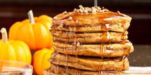 Halloween Pumpkins & Pancakes Brunch Buffet