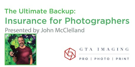 The Ultimate Backup - Insurance for Photographers tickets