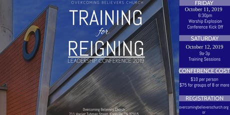 Training for Reigning 2019 tickets