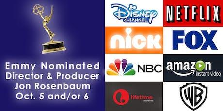 Emmy Nominated Director & Producer, Jon Rosenbaum's On-Camera Workshops tickets