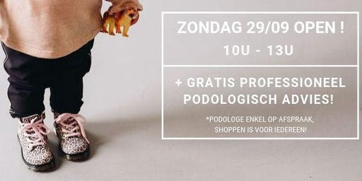 Zondag SHOPdag + GRATIS podologisch advies!