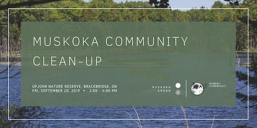 Muskoka Community Cleanup