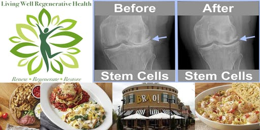 Free Stem Cell Seminar and Lunch - Bravo in Fredericksburg - Fri 9/27,12-1p