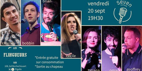 Seven Comedy Club N°32 tickets