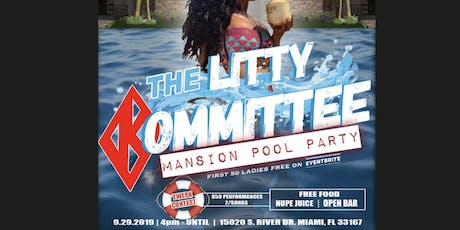 THE LITTY KOMMITTEE MANSION POOL PARTY tickets