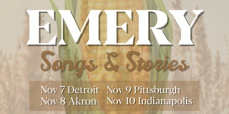 Emery: Songs and Stories @ Akron tickets