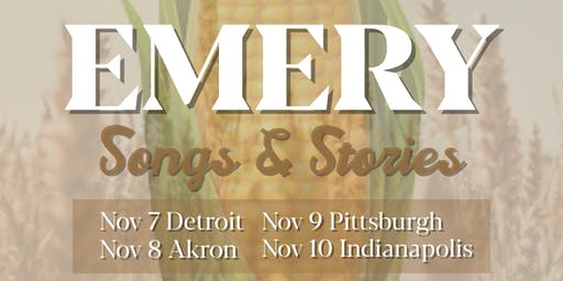 Emery: Songs and Stories @ Akron