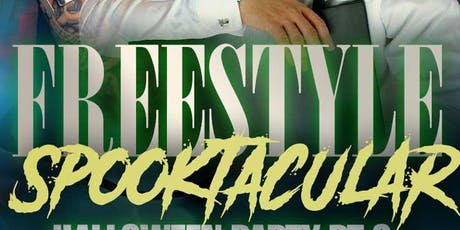Freestyle Spooktacular Halloween Party Pt. 3 With Live Performance By Soave tickets