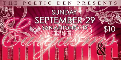 Poetry Tour (San Antonio, TX) 'Eargasms & Eruptions' tickets