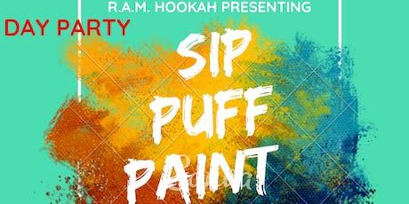 Sip, Puff & Paint 2 tickets