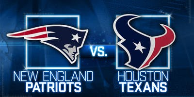 Texans Vs Patriots Tailgate with GFE Tailgaters