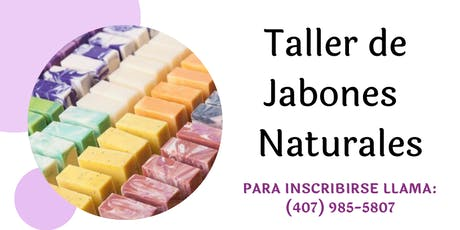 Taller de Jabones Naturales tickets