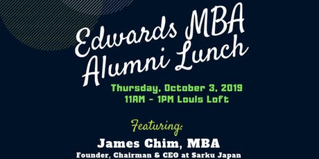 Edwards MBA Alumni Lunch tickets