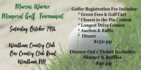 Marcus Warner Memorial Golf Tournament  tickets
