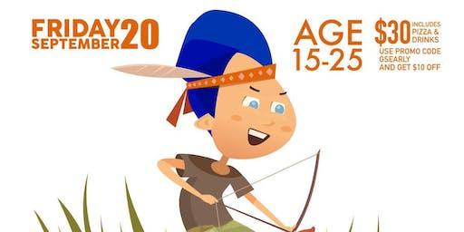 GS Boys Archery Field Trip