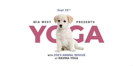 Puppy Yoga with Mia West