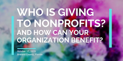 Giving USA Report: Who is Giving to Nonprofits?