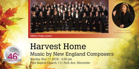 Harvest Home: Music by New England Composers tickets