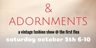 Articles and Adornments Vintage Clothing Sale and Fashion Show