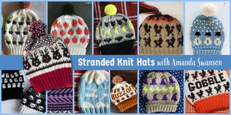 Stranded Knit Hat with Amanda Swanson tickets