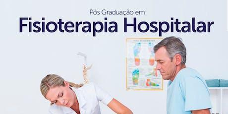 Pós-graduação em Fisioterapia Hospitalar - Sorocaba ingressos