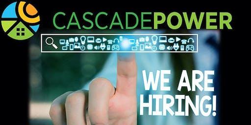 Cascade Power Hiring Open House