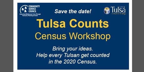 Tulsa Counts Census Workshop tickets