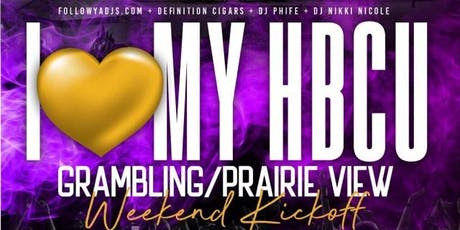 I Love My HBCU: Grambling vs Prairie View Weekend Kickoff tickets