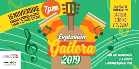 Explosión Gaitera Montréal 2019 billets