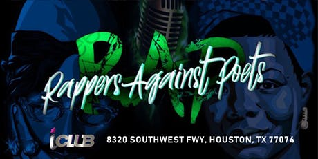 RAPPERS AGAINST POETS @ iCLUB| 6PM SUN NOV 3 tickets